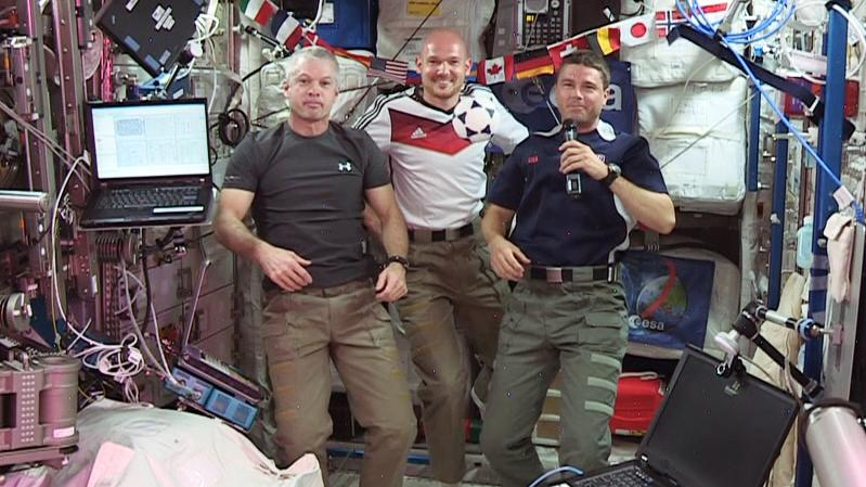 World Cup Aboard The Space Station