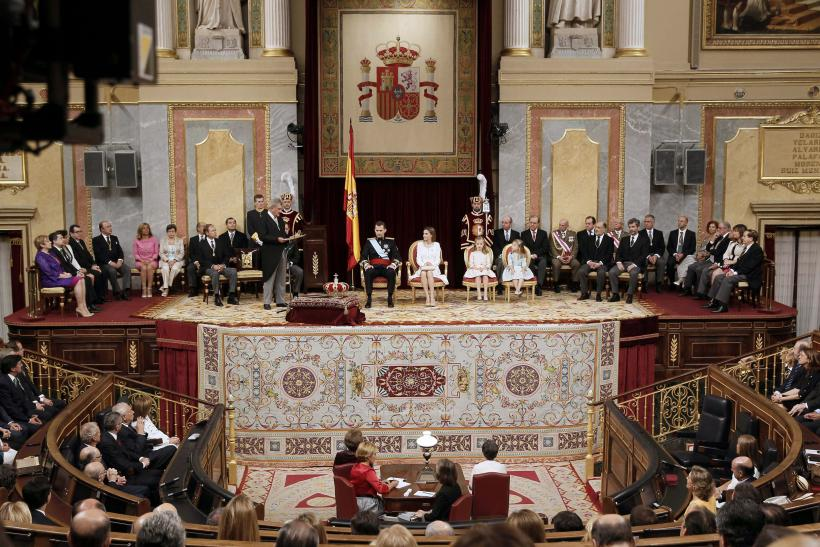 King of Spain Sworn In