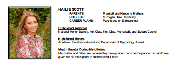 Eminem   s Daughter Hailie Scott Mathers Graduated From High School    Eminem And His Daughter Hailie