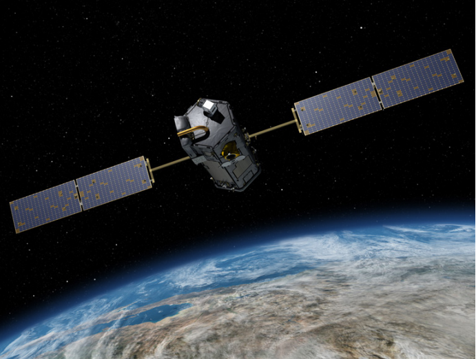 NASA Carbon-Tracking Satellite