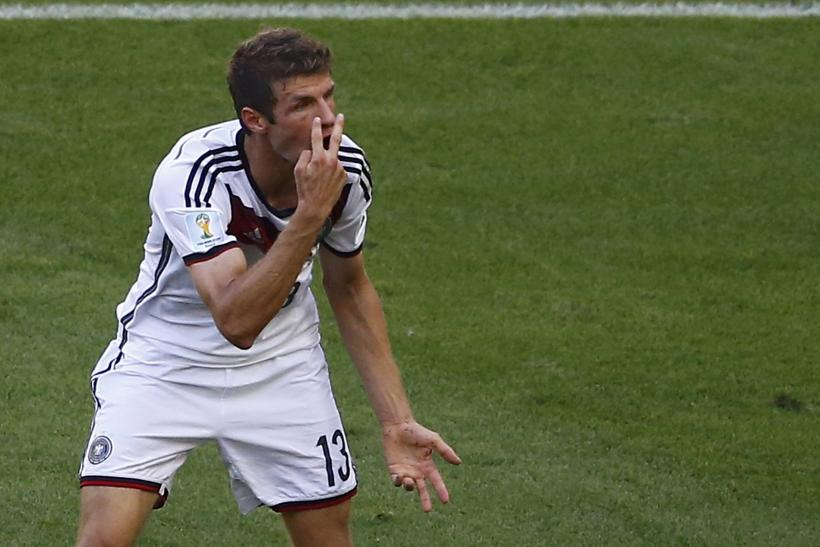 Thomas Muller Germany WC 2014