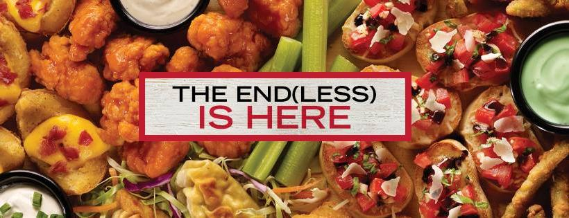 TGI Fridays Unlimited Bottomless Appetizer Deal