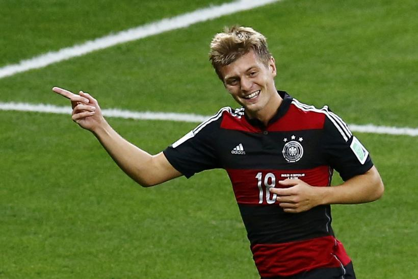 Toni Kroos Germany World Cup 2014
