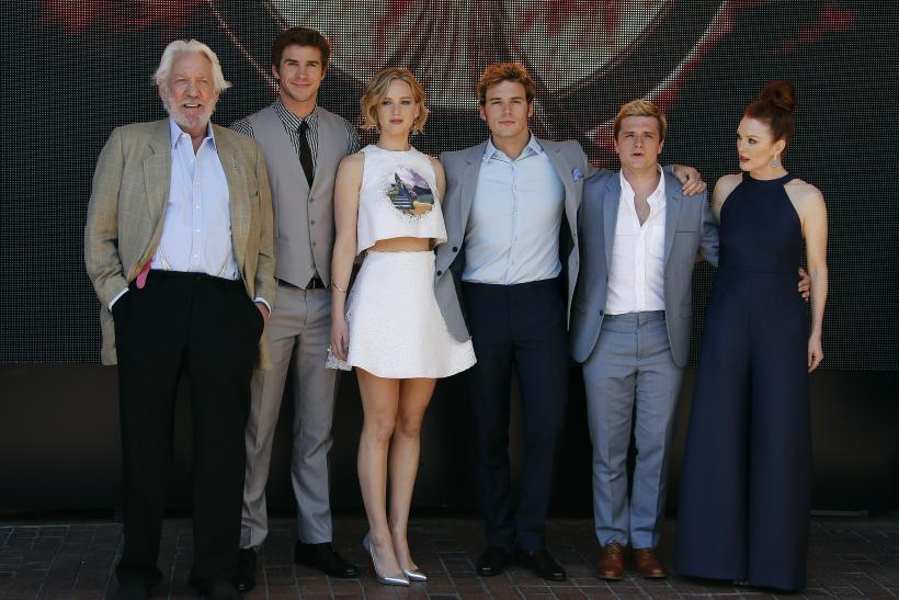 "Mockingjay"" Cast"