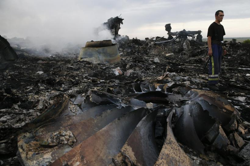 Malaysia Airlines Boeing 777 Plane Crash-July 17, 2014