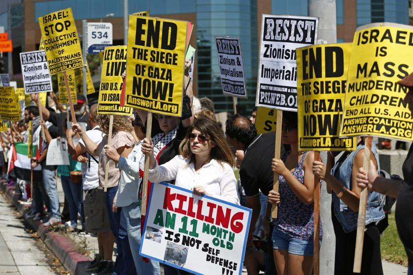 Protests In LA Against Gaza Siege_July20