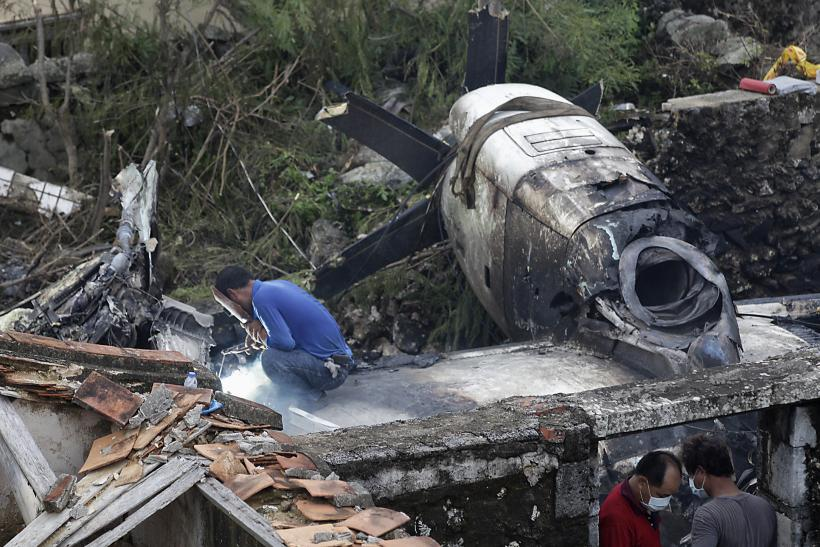 TransAsia Taiwan Crash Site