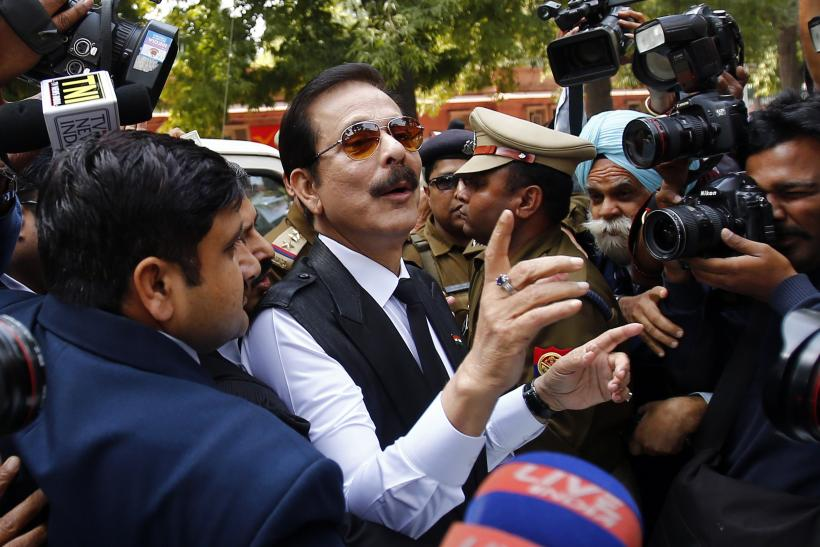 Sahara Group Chairman Subrata Roy-March 4, 2014
