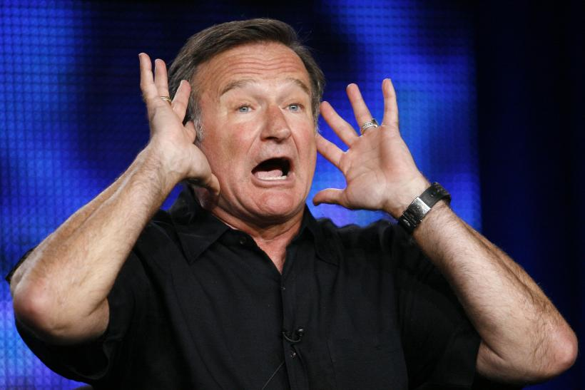 Comedian Robin Williams