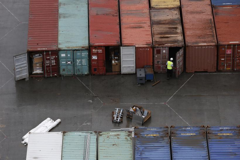 35 People Found In A Shipping Container