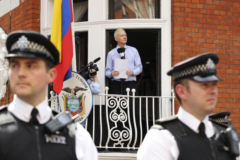 Image result for Ecuador treated Julian Assange