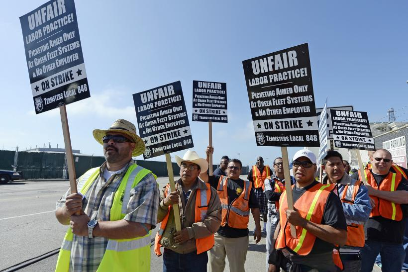 Long Beach Labor Union Strike