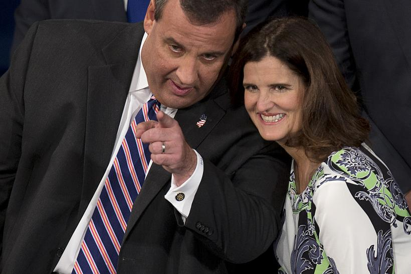 Christie and wife Mary