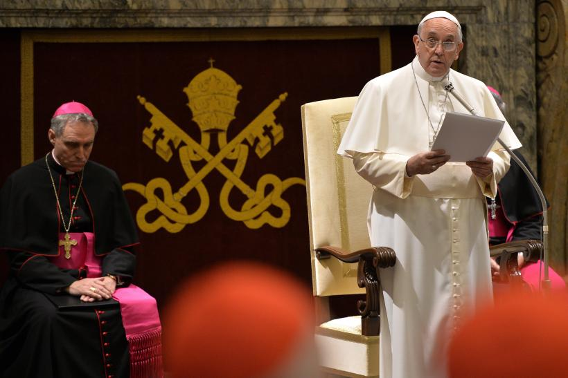 Pope Francis Slams Church Bureaucracy: Lists The Vatican's '15 Sins'