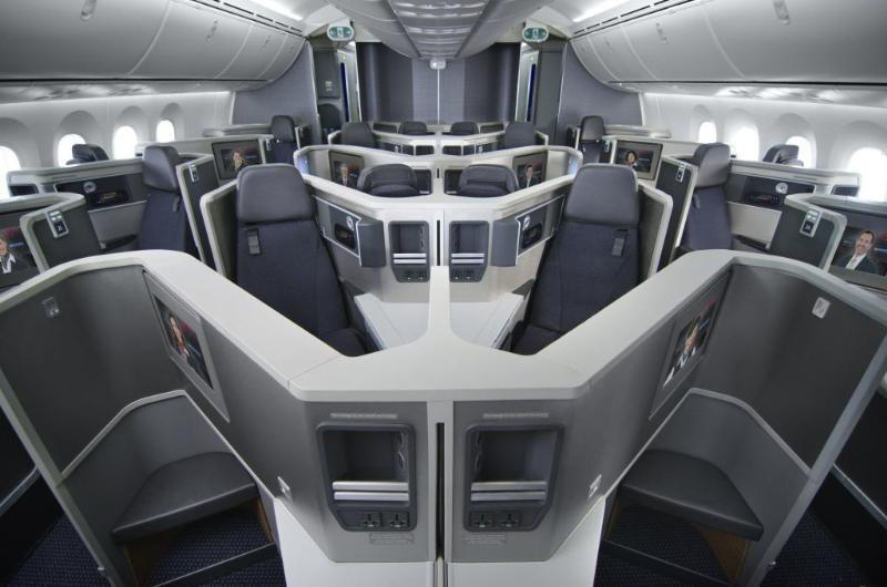 American Airlines Boeing 787 Dreamliner Featuring State Of