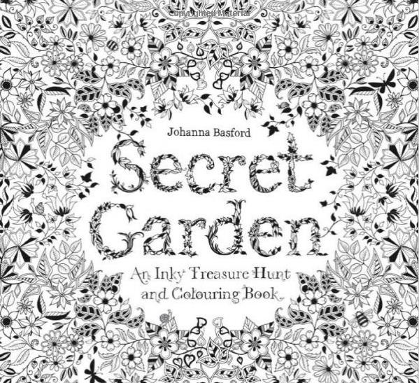 39 secret garden 39 coloring book outsells harper lee as Amazon coloring books for adults secret garden