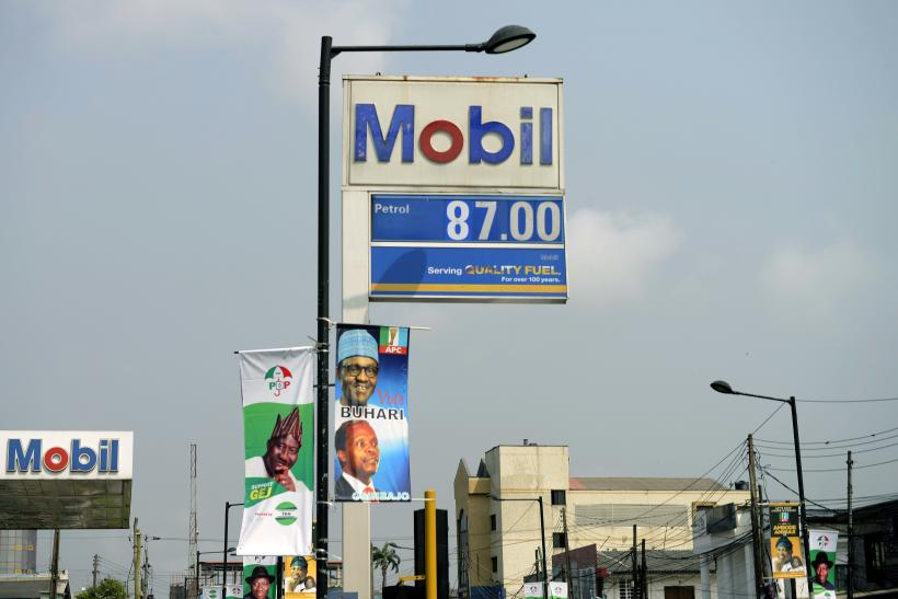 Nigeria presidential campaign posters
