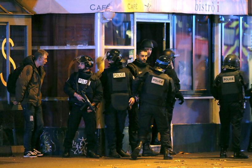 French police attempt to end a hostage situation in Paris