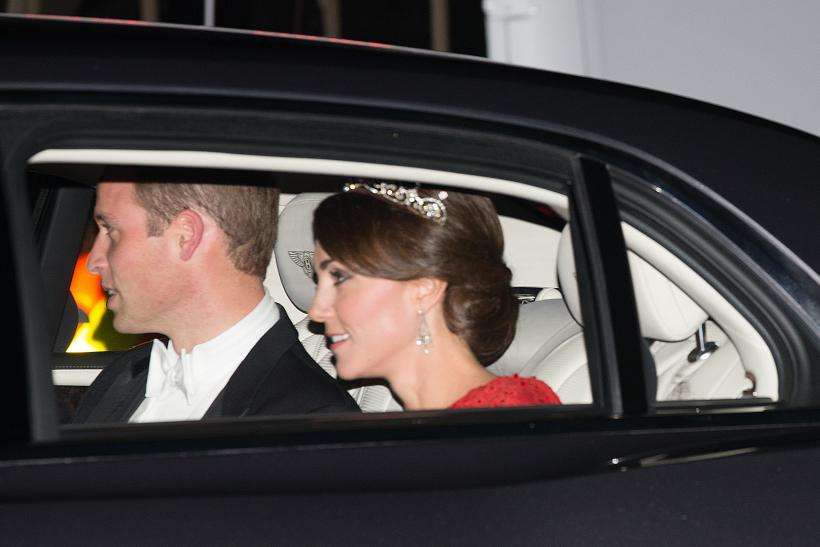 Kate Middleton dons Princess Diana`s famous tiara
