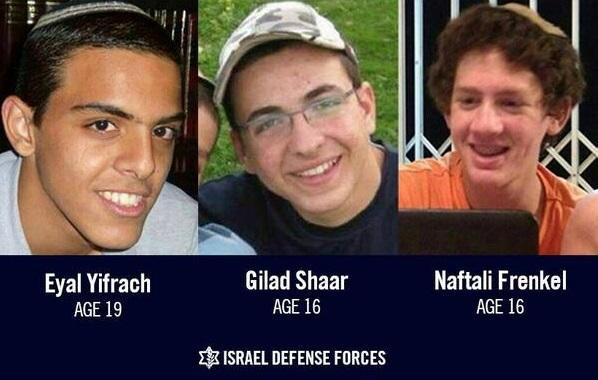 Now Hamas Says It Kidnapped Israeli Boys