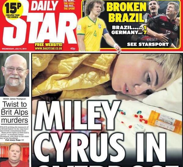 Miley Cyrus Drug Overdose Rumors Might Emerge After Her NSFW Short Film's Release
