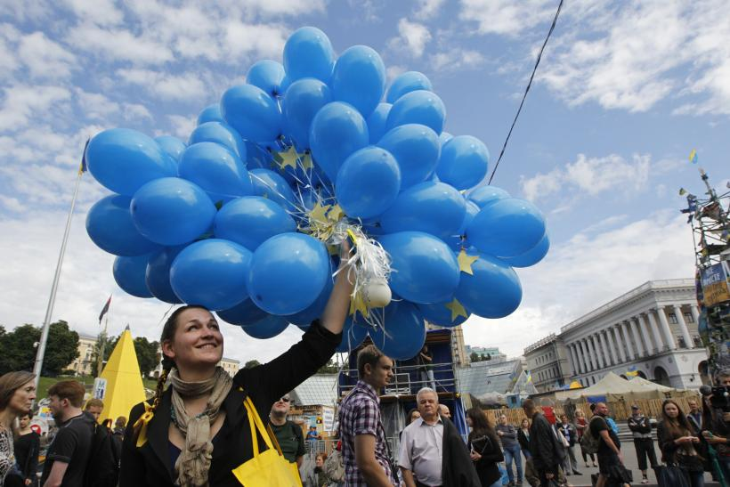 Ukrainians Protest Against Europe, After Protesting For It