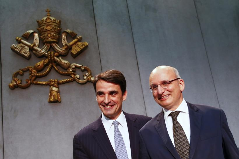 Vatican Bank Aims To Shake Scandals