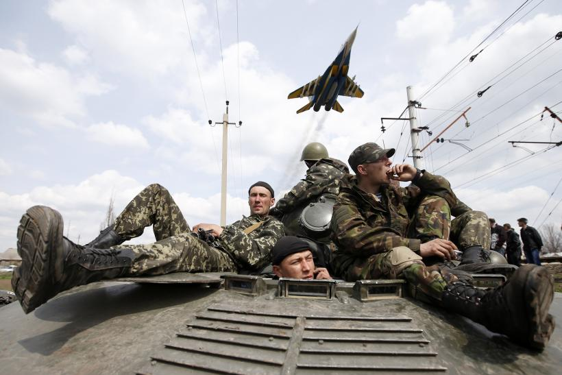 Ukraine Scrambles Fighter Jets Against Missile-Firing Rebels