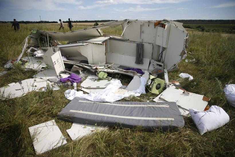 MH17 Debris Supports Missile Theory