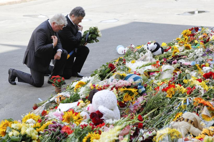 Ukrainian Military Sends Off MH17 Victims With Somber Service