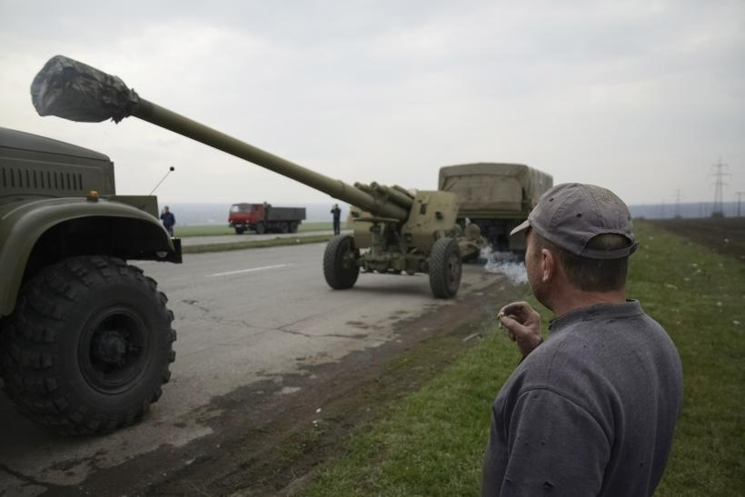 Pentagon Says Russia Is Firing Artillery Across The Ukrainian Border
