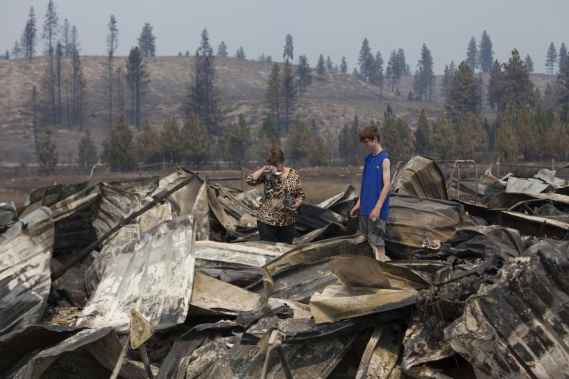 'Horrifying' Scenes Of Washington State's Biggest Fire [PHOTOS]