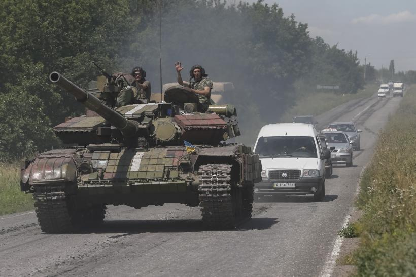 Russia Amassing 15K Troops On Ukraine Border