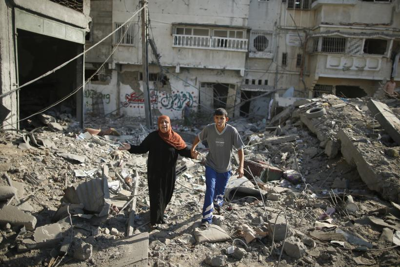 The Cease-Fire In Gaza Is A Chance To Collect The Dead