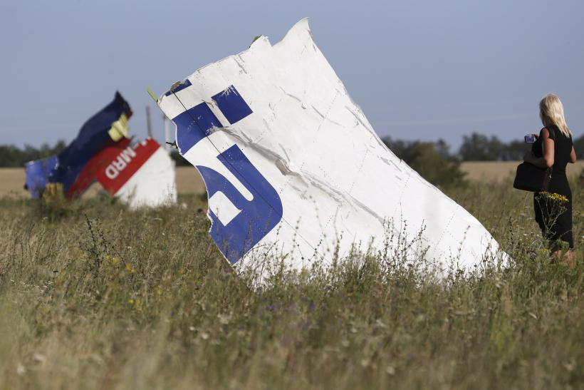 MH17 Recorder Shows Plane Hit By Missile