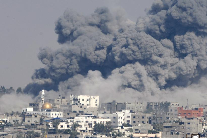 WATCH: Time-Lapse Video Of Gaza Neighborhood Leveled By Strikes