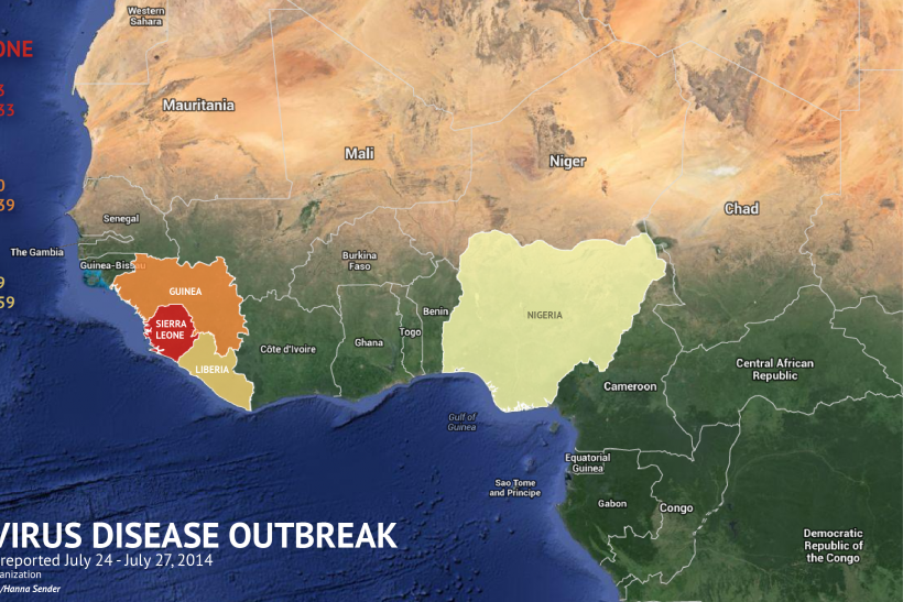 Where Is The Ebola Virus Outbreak?