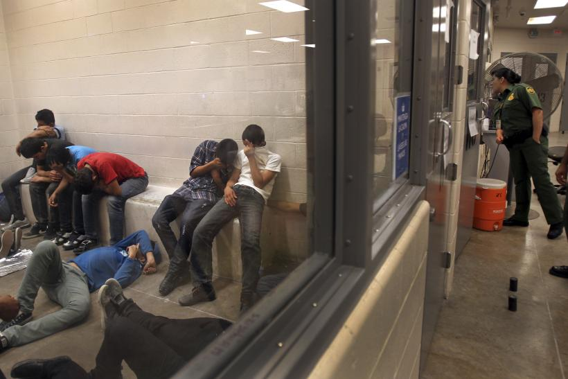 Child Migrants Locked Inside The 'Icebox'