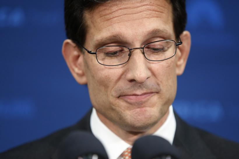 Eric Cantor To Quit Congress Early