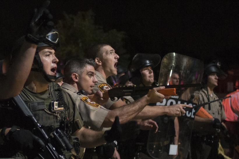 Police Arrest 47 Protesters In Ferguson