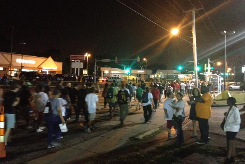 6 Arrests In Ferguson, But No Tear Gas