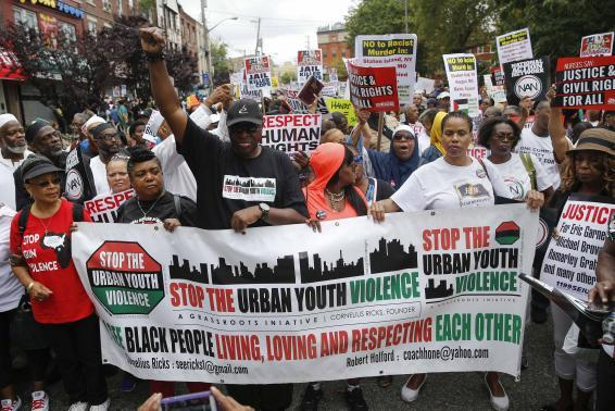 Thousands Peacefully Protest Eric Garner's Death In New York