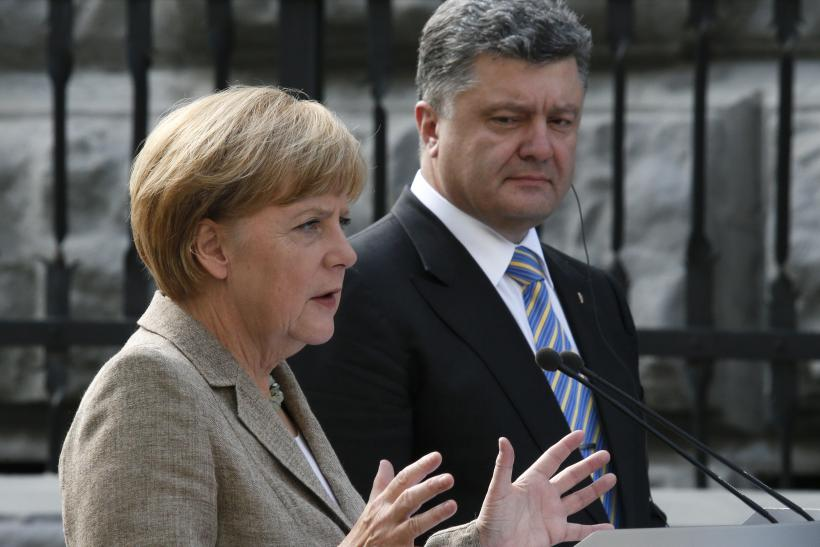 'You Cannot Achieve Peace On Your Own,' Angela Merkel Says