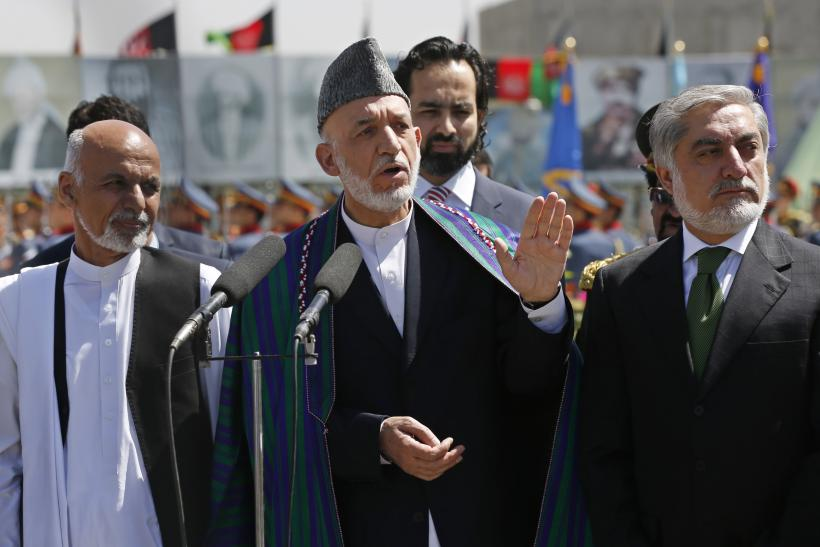 Abdullah Disrupts Afghan Election Audit