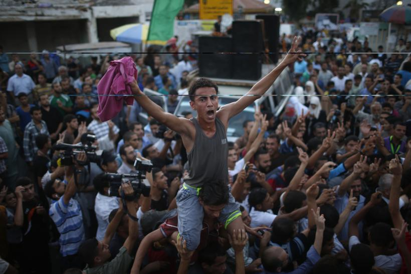 Palestinians Celebrate Gaza Cease-Fire, But Will It Hold?