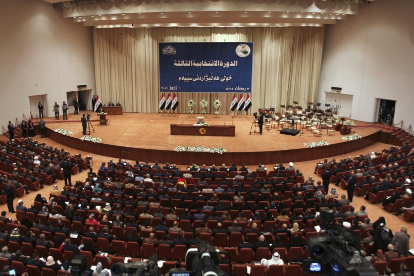 Relatives Of ISIS Victims Attack Iraqi Parliament