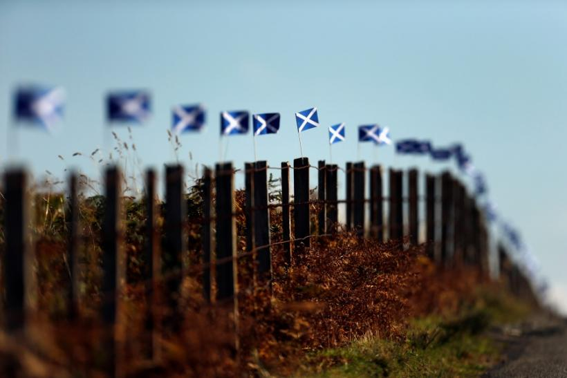 Last-Minute Campaigning As Scotland Nears Historic Vote