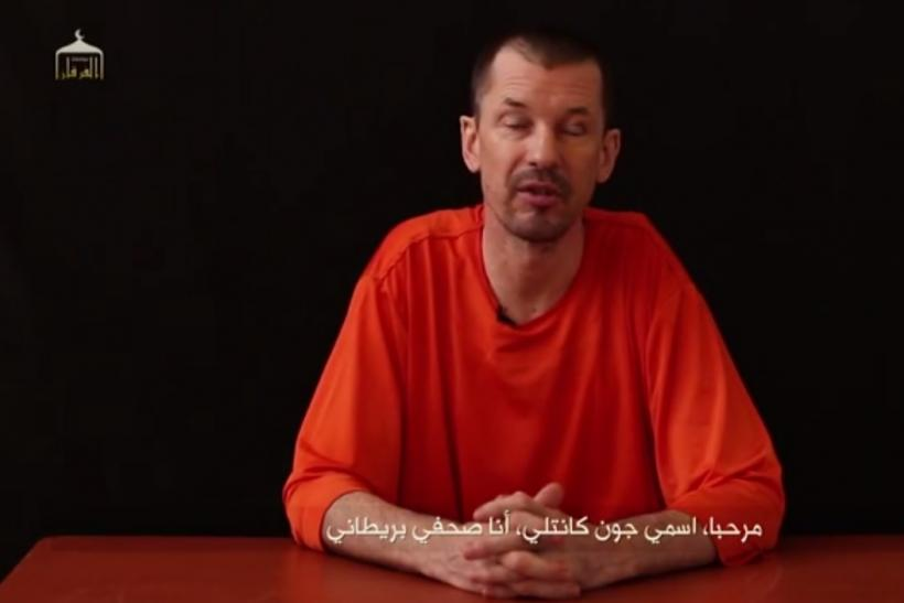New ISIS Video Uses British Captive As Spokesman