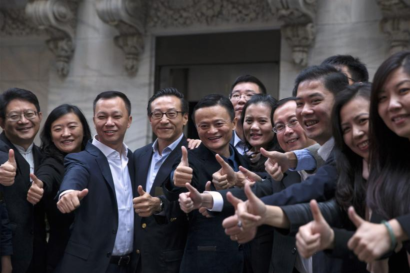 Alibaba's Big Winners: Banks, Jack Ma And NYSE