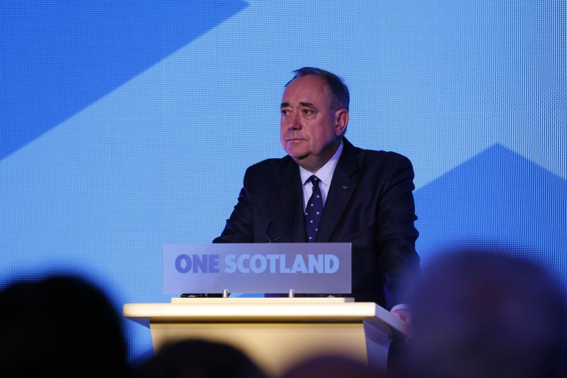 Salmond Accepts Scotland Referendum Verdict